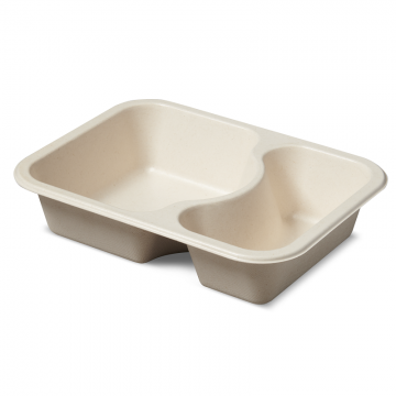 7230-6262TPLA 2-C Deep Compostable Tray